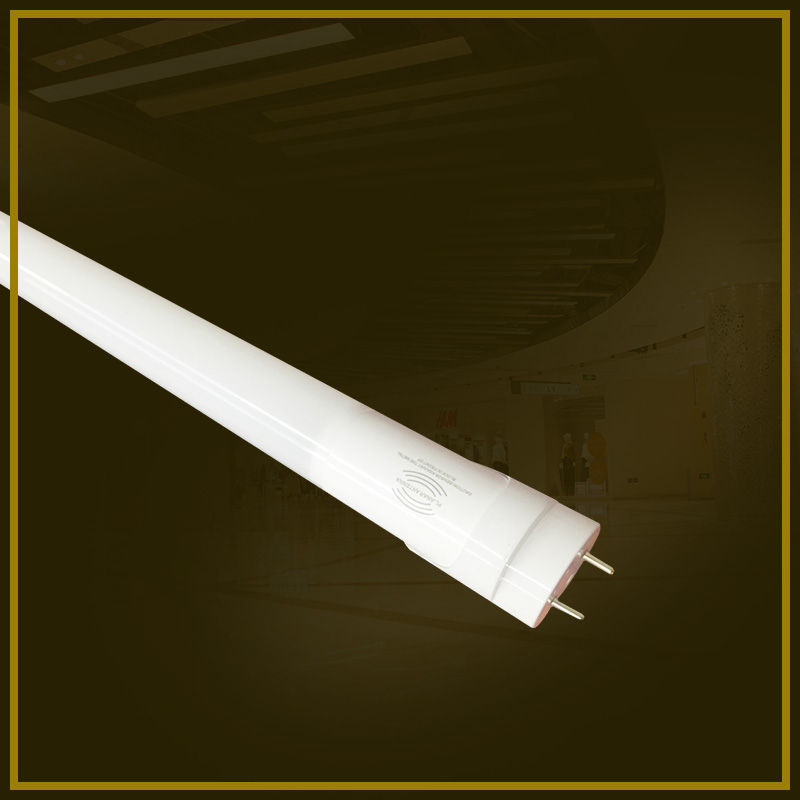 Radar induction LED T8 separated aluminum plastic tube