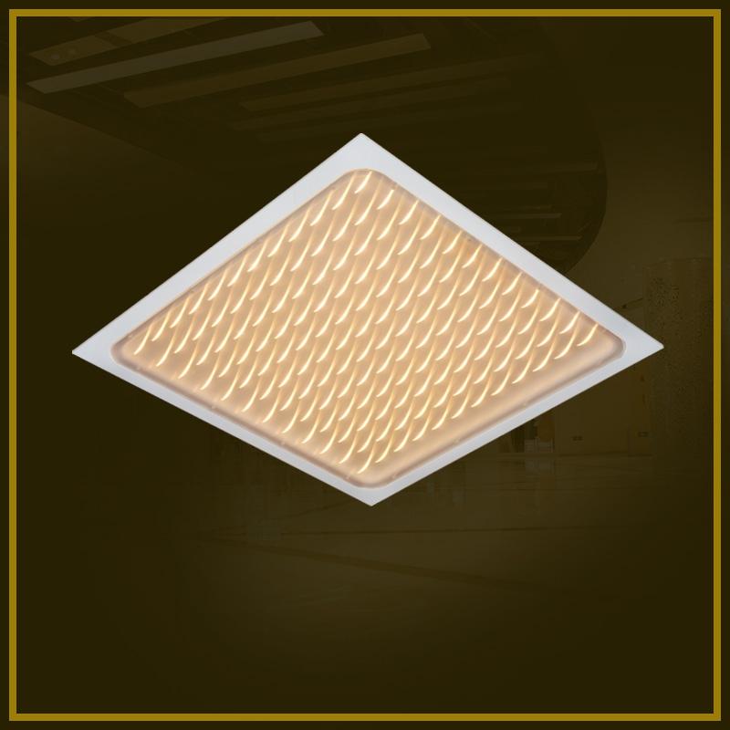 Crescent lamp panel