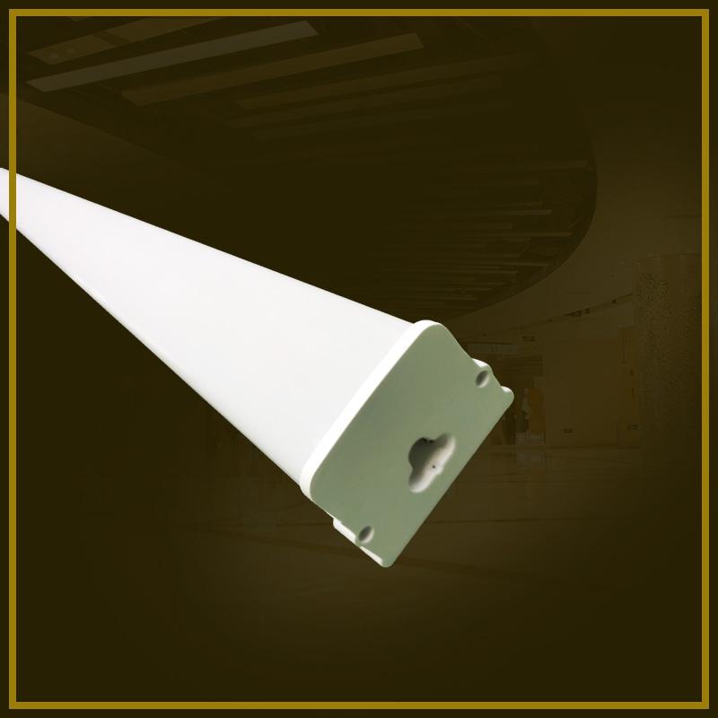 Square integral dustproof lamp