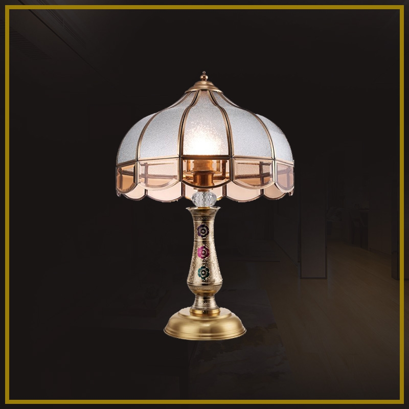 DS -167table lamp - all copper