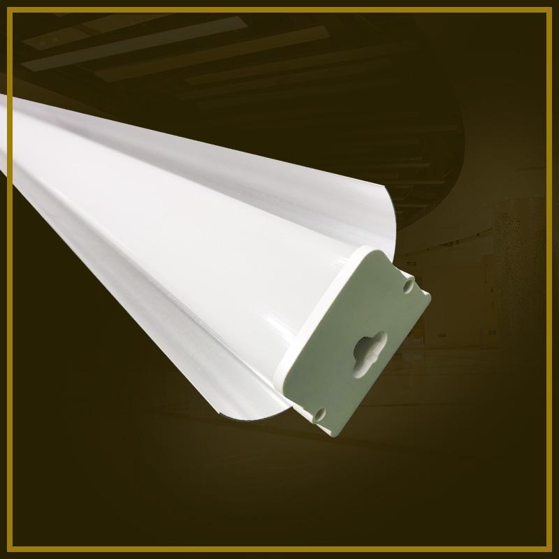 Square cover integral dustproof lamp