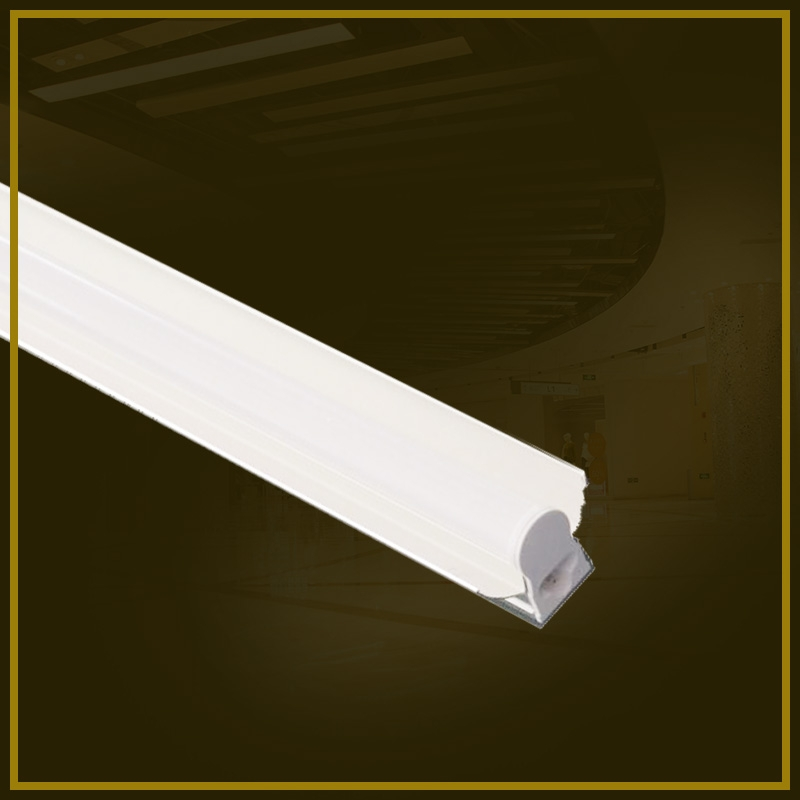LED T5 integrated bracket with cover -1